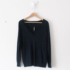 COMING 1/1/20! THE LIMITED V Neck Navy Sweater Top